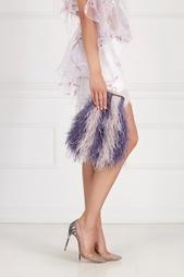 Клатч-ридикюль из перьев марабу Iris Esve