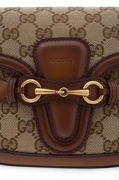 Кожаная сумка Lady Web Gucci