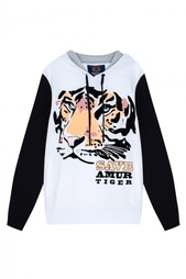 Хлопковое худи Valentin Yudashkin for Amur Tiger Center