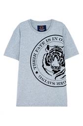 Хлопковая футболка Valentin Yudashkin for Amur Tiger Center