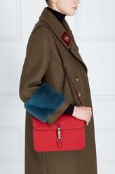 Кожаная сумка Jackie Gucci