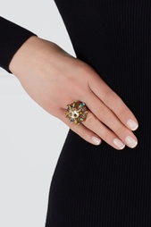 Кольцо с кристаллами Gucci