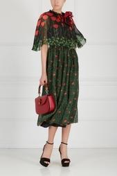 Кожаная сумка Bamboo Classic Gucci