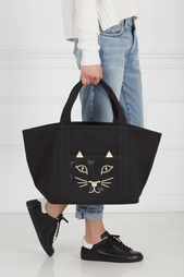 Хлопковая сумка Feline Ami Charlotte Olympia