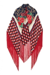 Шелковый платок Gucci