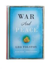 Кожаный клатч «War and Peace» Foliant
