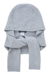 Кашемировый шарф-капюшон Katia Mossina