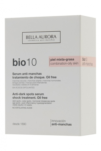 Сыворотка для ровного цвета лица Bio 10 Combination-Oily Skin 30ml