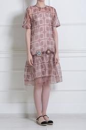 Шелковое платье Ostwald Helgason