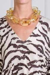 Прозрачное колье-цепочка Stella Mc Cartney