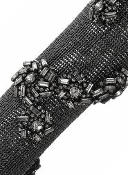 Браслет-рукав из металла и стекла Erickson Beamon