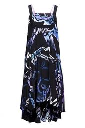 Платье А-силуэта с принтом (в химчистку) Proenza Schouler