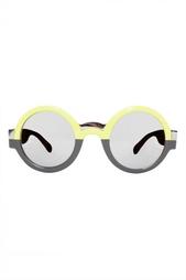 Круглые солнцезащитные очки Diane von Furstenberg