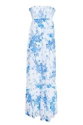Платье из хлопка и шелка Alice by Temperley