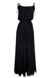 Шелковое платье Halston Heritage