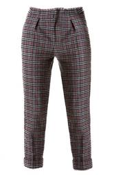 Укороченные шерстяные брюки Roland Mouret
