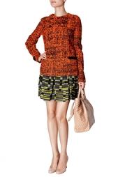 Шелковая мини-юбка Proenza Schouler
