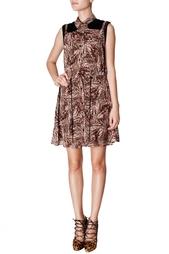 Шелковое платье-халат Proenza Schouler