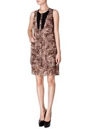 Шелковое платье-рубашка на пуговицах Proenza Schouler