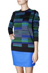 Шерстяной свитер в полоску Proenza Schouler