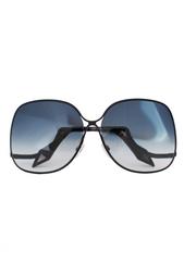Солнцезащитные очки oversized Victoria Beckham