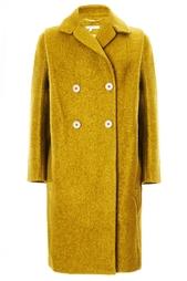 Теплое двубортное пальто Carven