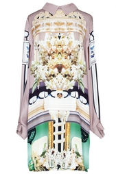 Шелковое платье с принтом - нет в наличии Mary Katrantzou