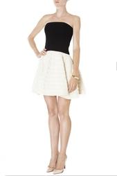 Платье с шерстяной юбкой Jay Ahr