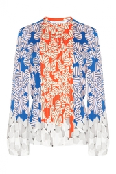 Блуза Novalee с принтом Diane von Furstenberg
