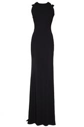 Платье макси с открытой спиной Victoria Beckham
