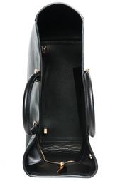 Черная кожаная сумка The Row