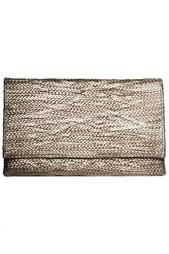 Плетеный серебряный клатч Jay Ahr