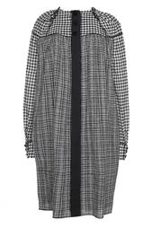 Шерстяное платье в клетку Marc Jacobs