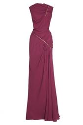 Драпированное платье-макси Nina Ricci
