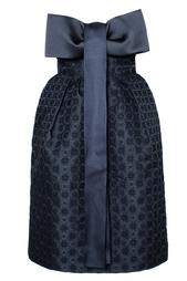 Платье-бюстье с бантом Stella Mc Cartney