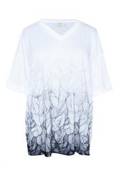Белая футболка с принтом Stella Mc Cartney