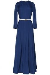 Шелковое платье-макси Alessandra Rich