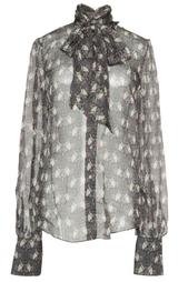 Шелковая блуза с принтом Lublu Kira Plastinina