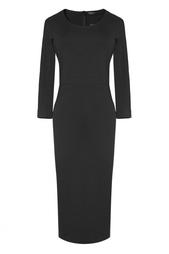 Черное платье с рукавом 3/4 The Row