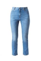 Укороченные голубые джинсы Stella Mc Cartney