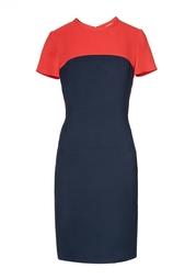 Платье из вискозы с круглым вырезом Stella Mc Cartney
