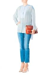 Шелковая рубашка в полоску Stella Mc Cartney