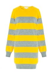 Удлиненный свитер в полоску Stella Mc Cartney