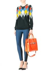 Шерстяной свитер с круглым вырезом Stella Mc Cartney