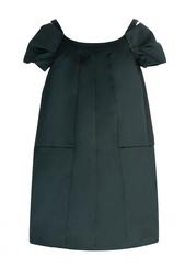 Черное платье-трапеция Marc Jacobs