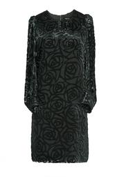 Платье с принтом из вискозы Junya Watanabe