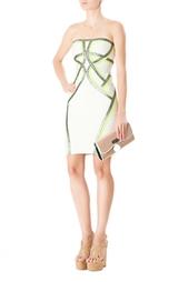 Бандажное платье-бюстье Hervé Léger