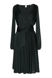 Однотонное платье Halston Heritage
