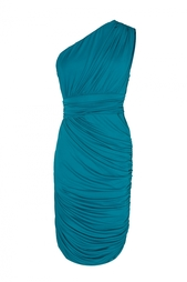 Асимметричное платье Halston Heritage
