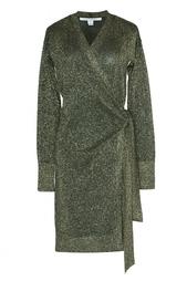 Шерстяное платье-халат Diane von Furstenberg
